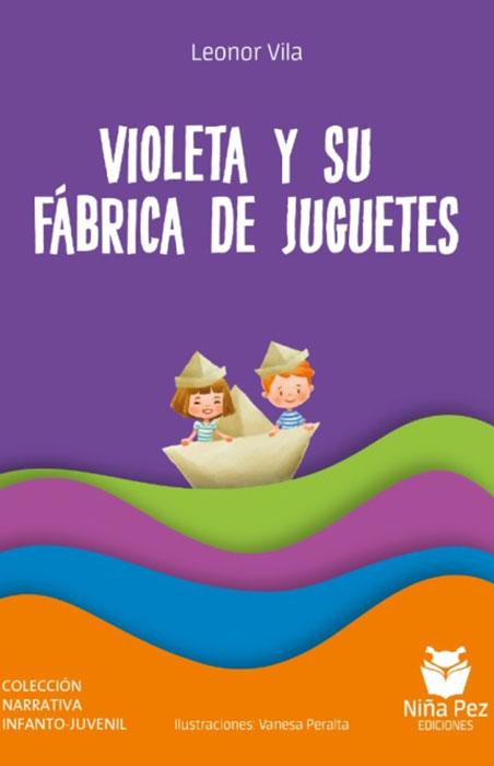 Violeta y su fabrica de juguetes